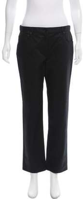 The Row Mid-Rise Straight-Leg Pants w/ Tags