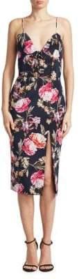 Nicholas Lucile Silk Floral Dress