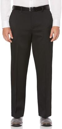 Savane Big & Tall Straight-Fit Crosshatch Stretch Dress Pants