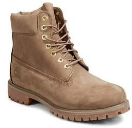 Timberland Leather Lace-Up Boots