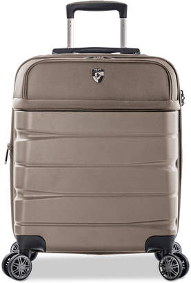 """Heys Charge-a-Weigh 21"""" Hybrid Carry-On Spinner Suitcase"""