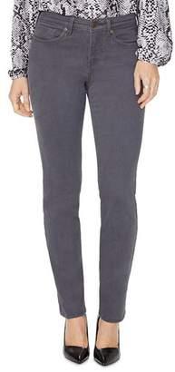 NYDJ Sheri Slim Jeans in Vintage Pewter