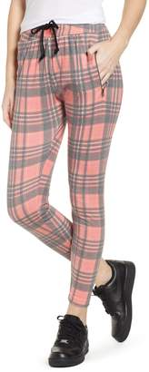 Wildfox Couture Sweetheart Plaid Jogger Pants