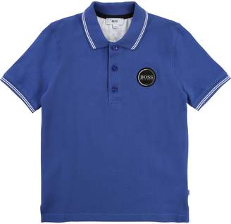HUGO BOSS Boys Short Sleeved Polo