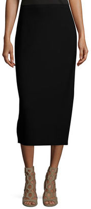 Eileen Fisher Washable Silk/Cotton Midi Pencil Skirt, Petite $218 thestylecure.com