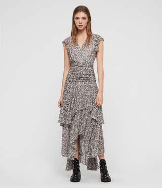 AllSaints Caris Kara Long Dress