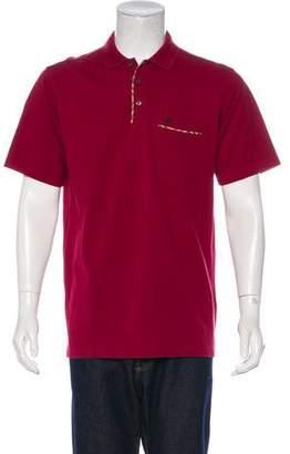 Burberry Equestrian Knight Device Polo Shirt