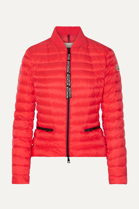 Moncler Quilted Shell Down Jacket - Orange