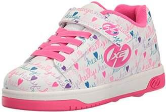 Heelys Kids Dual UP X2 Running Shoes, White/Pink/Multi