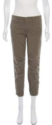 Mother Mid-Rise Skinny Cargo Pants
