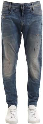 G Star G-Star D-Staq 3d Super Slim Ripped Denim Jeans