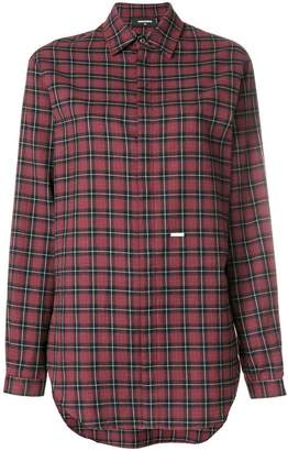 DSQUARED2 checked longsleeved shirt