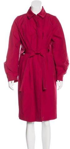 ValentinoValentino Belted Trench Coat