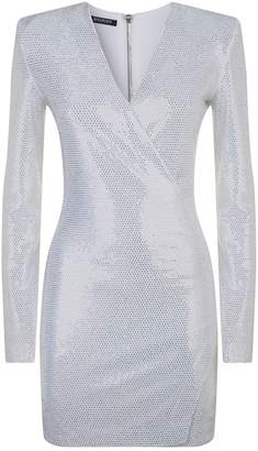 Balmain Crystal Dress