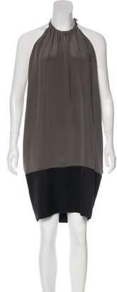 Celine Silk Halter Dress w/ Tags
