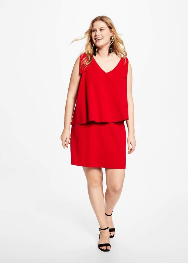 Doppellagiges Kleid