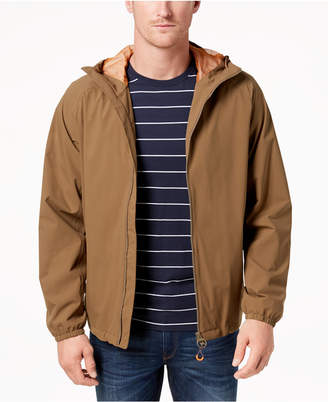 Barbour Men's Tailored-Fit Irvine Full-Zip Hooded Rain Jacket