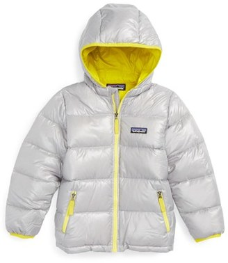Toddler Boy's Patagonia Hi-Loft Hooded Down Jacket $129 thestylecure.com
