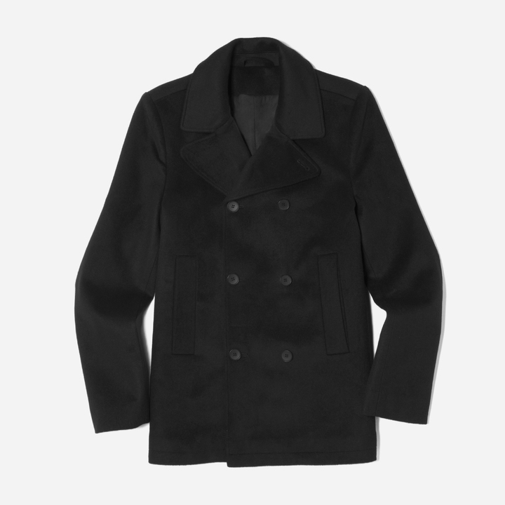 The Quilted Peacoat
