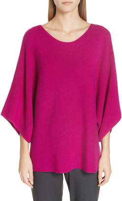 Eileen Fisher Kimono Sleeve Merino Wool Sweater