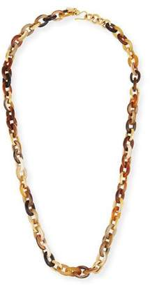 Ashley Pittman Meli Mixed Horn Link Necklace