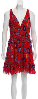 Rebecca Minkoff Printed Sleeveless Mini Dress