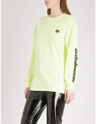 Yeezy Season 5 Calabasas-print cotton-jersey top