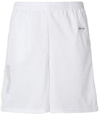Off-White basic mesh shorts