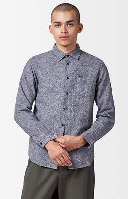 Obey Numbers Long Sleeve Button Up Shirt