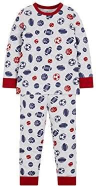 Mothercare Boy's Print Pyjama Sets,(Size: 110 cms)