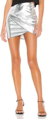 superdown Charmaine Wrap Mini Skirt