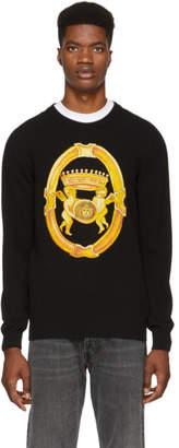 Versace Black Angels Crewneck Sweater