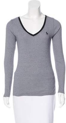 Ralph Lauren Sport Striped Long Sleeve Top