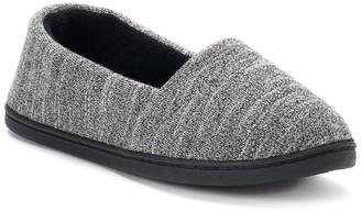 94e5b285de547b Isotoner Women s Andrea Space-Knit A-Line Slippers