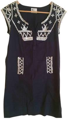 Stella Forest Navy Cotton Dress for Women