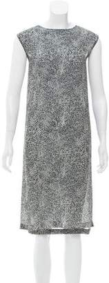 Calvin Klein Sleeveless Printed Dress