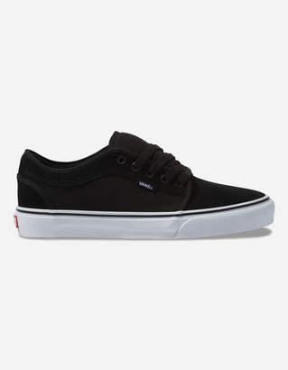 Vans Suede Chukka Low Black & True White Shoes