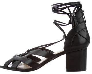 MICHAEL Michael Kors Wrap-Around Leather Sandals