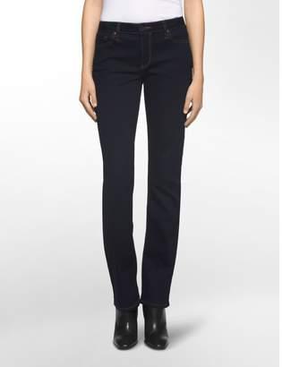 Calvin Klein straight fit dark rinse jeans