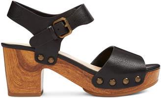 4b3fbe2cab40 Nine West Straps Sandal Platform Leather - ShopStyle