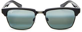 Maui Jim Kawika Polarized Square Sunglasses, 54mm