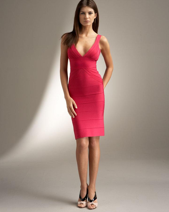 Herve Leger Isabelle Dress