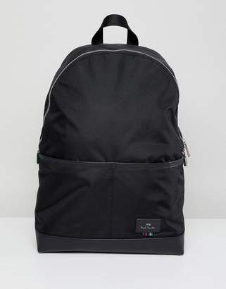 Paul Smith (ポール スミス) - PS Paul Smith Nylon Backpack In Black