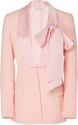 Prabal Gurung Ribbon Collar Blazer