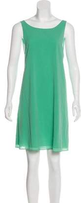 Alice + Olivia Silk Cutout Dress