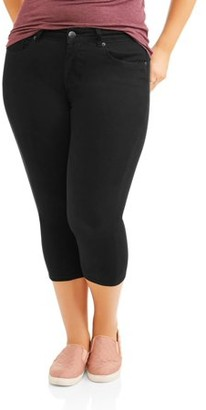 Rock & Stone Women's Plus Size Super Stretch Capri