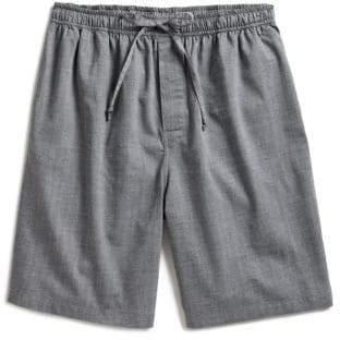 e4d4478846 Nautica Herringbone Woven Cotton Sleep Shorts