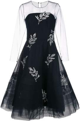 Sachin + Babi A-line tulle dress