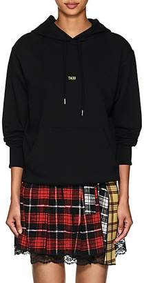 """Helmut Lang Women's """"Taxi"""" Cotton French Terry Hoodie - Black"""