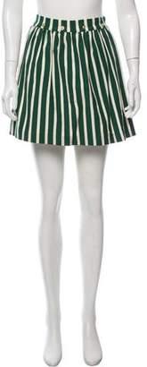 MAISON KITSUNÉ Printed Mini Skirt